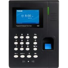 Система учета рабочего времени по отпечатку пальца или RFID картам Anviz C2
